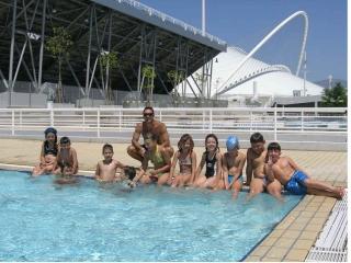 Summer camp του πρωταθλητή μαθαίνουμε να κολυμπάμε