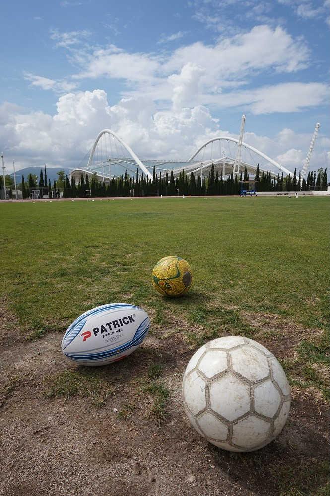summer camp του Πρωταθλητή τα παιδιά θα παίξουν  ραγμπι και ποδόσφαιρο