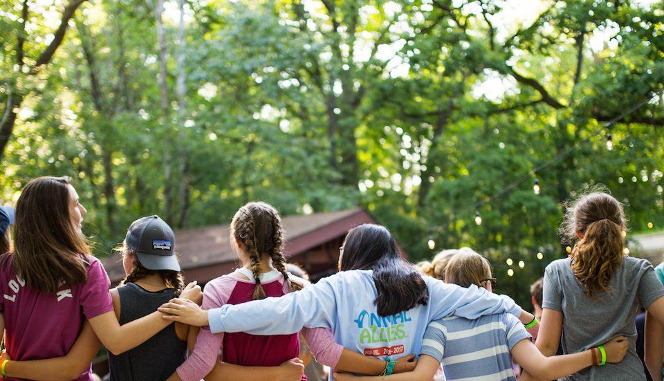 ομάδα παιδιών στο summer camp του πρωταθλητή